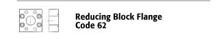 Reducing Block Flange - Code 62