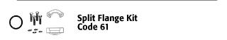 Split Flange Kit - Code 61