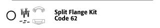 Split Flange Kit - Code 62