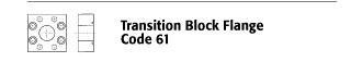 Transition Block Flange - Code 61